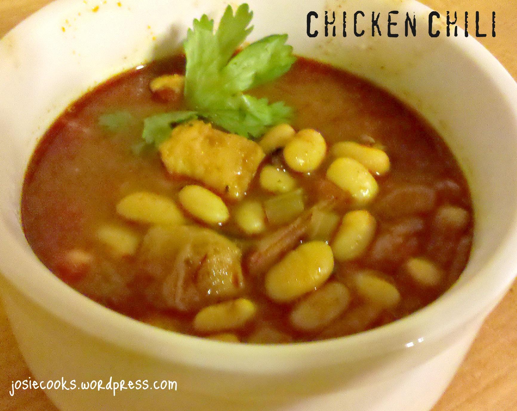 Chicken Chili | Josie Cooks!